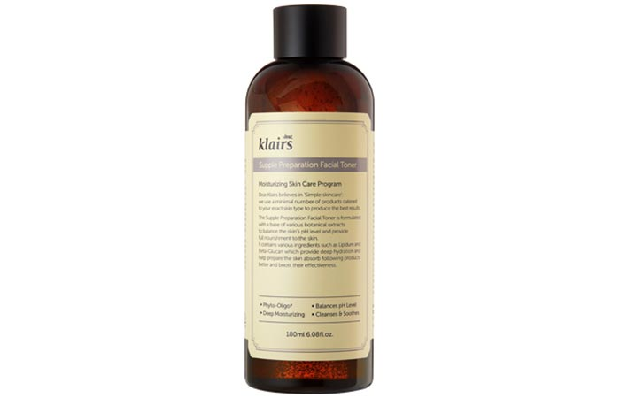 Ear, Klairs Supple Preparation Facial Toner