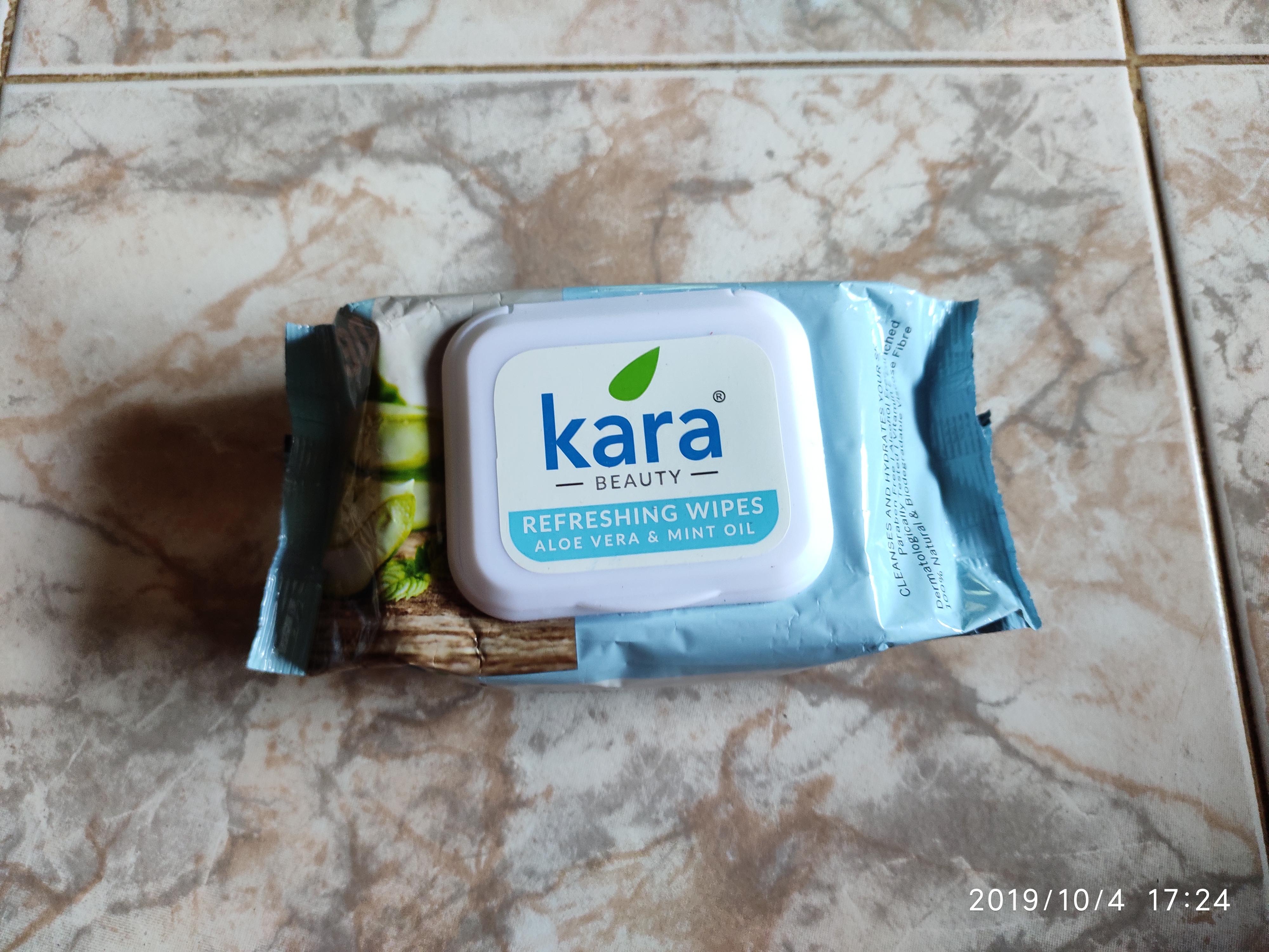 Kara Face Wipes-Refreshing and convenient!!-By latha_selvaraj