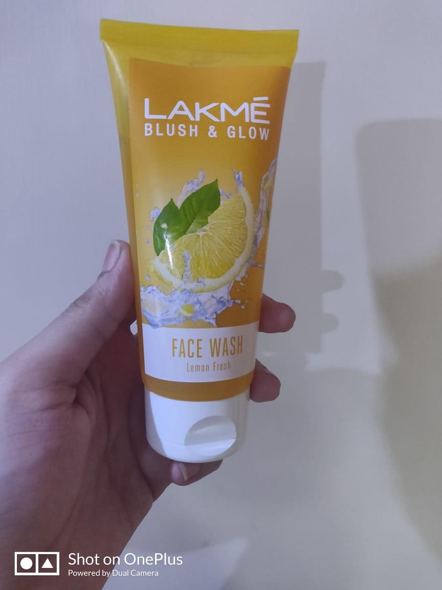 Lakme Blush & Glow Peach Gel Face Wash -For Fresh and clean face-By shriya_saxena