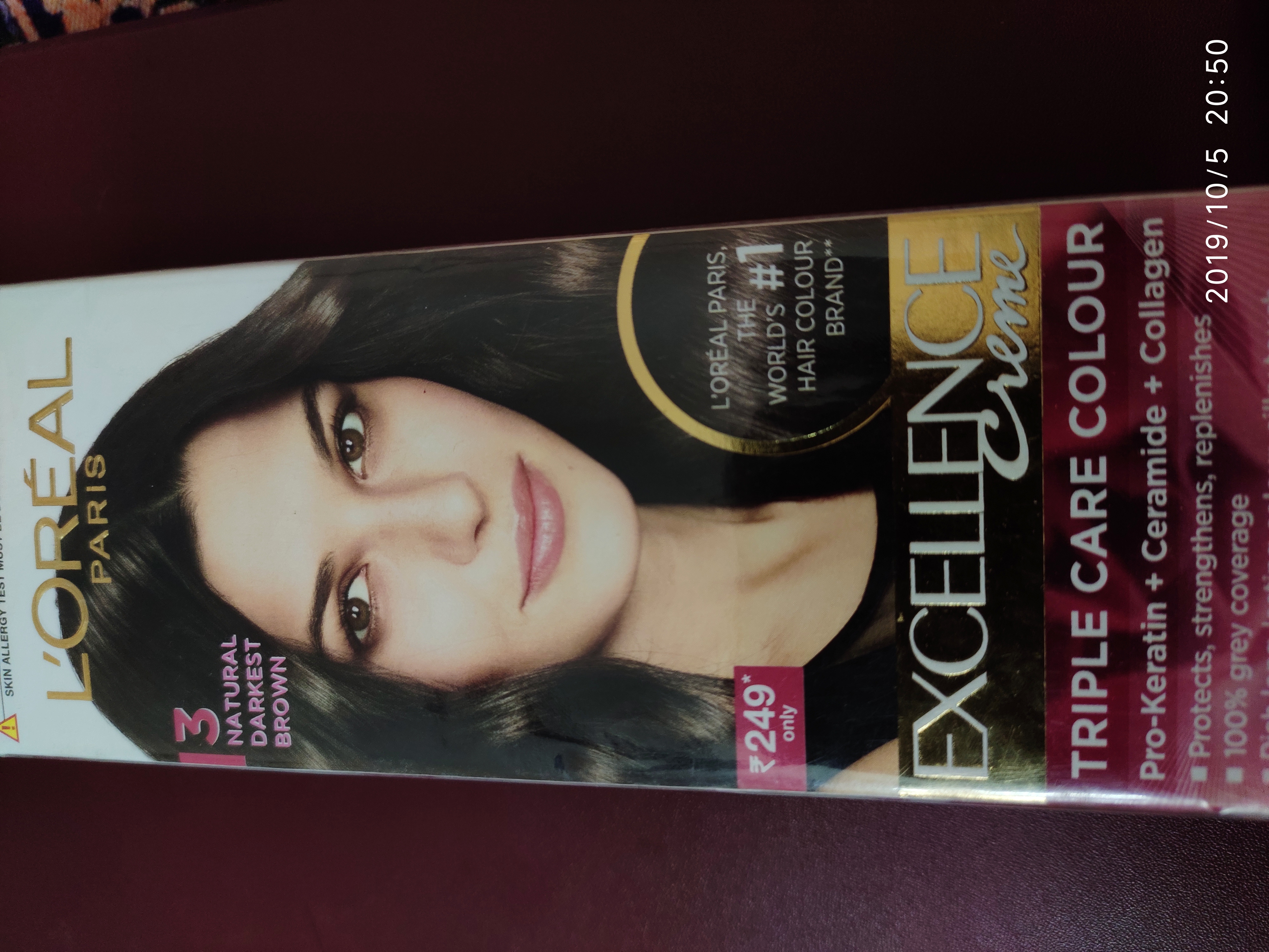 L'Oreal Paris Excellence Creme Hair Color -Not for someone with hair fall!!-By latha_selvaraj