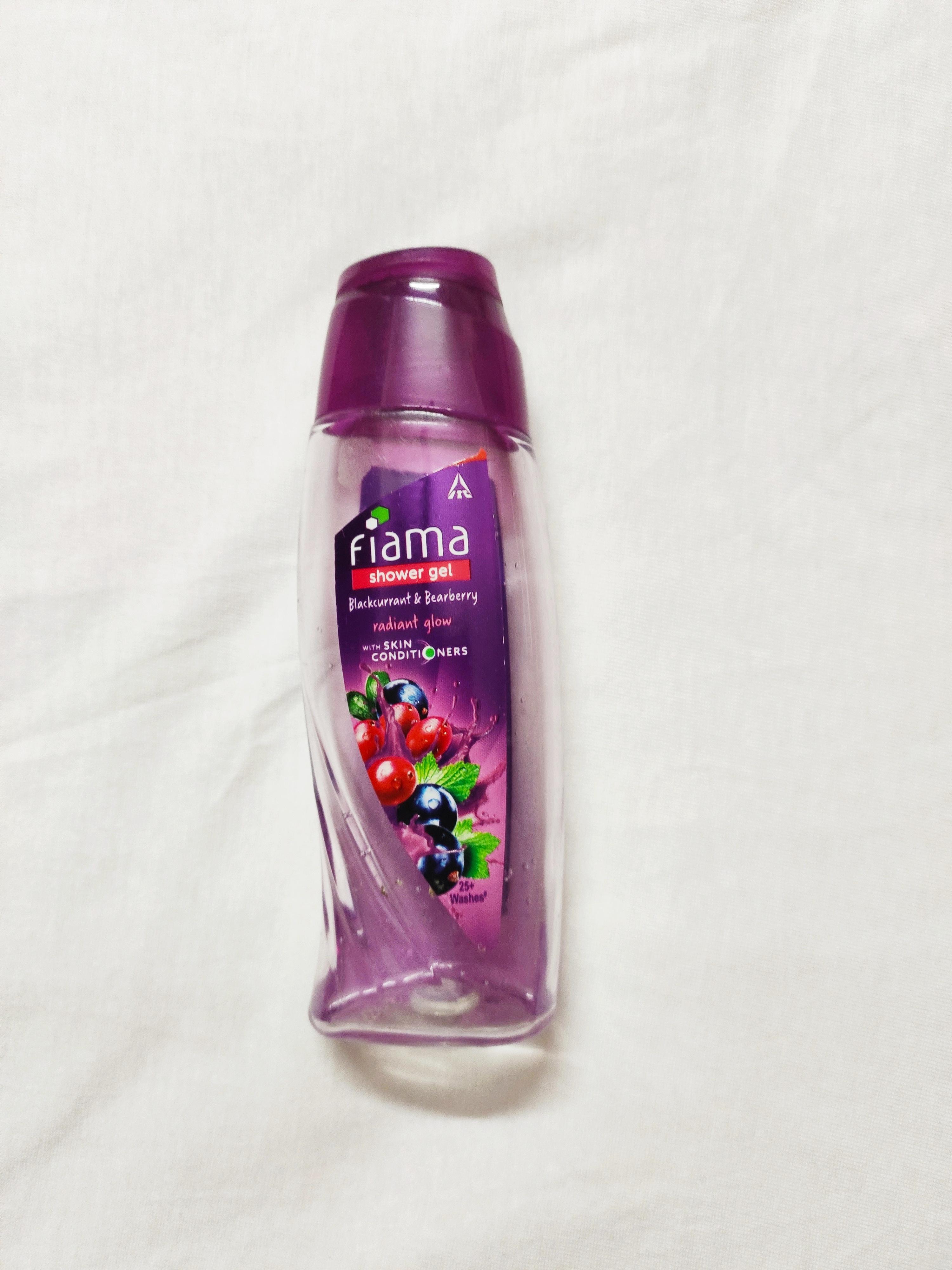 Fiama Blakcurrant & Bearberry Radiant Glow Gel Bar-Refreshing Fragrance-By tania_khan-3