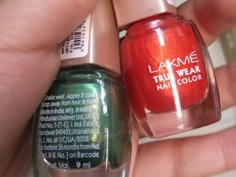 Lakme True Wear Nail Color pic 1-Lovely shades-By alia28