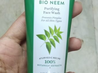 Biotique Bio Neem Purifying Face Wash pic 2-A regular face wash that cleanses the skin and nothing more-By Nasreen