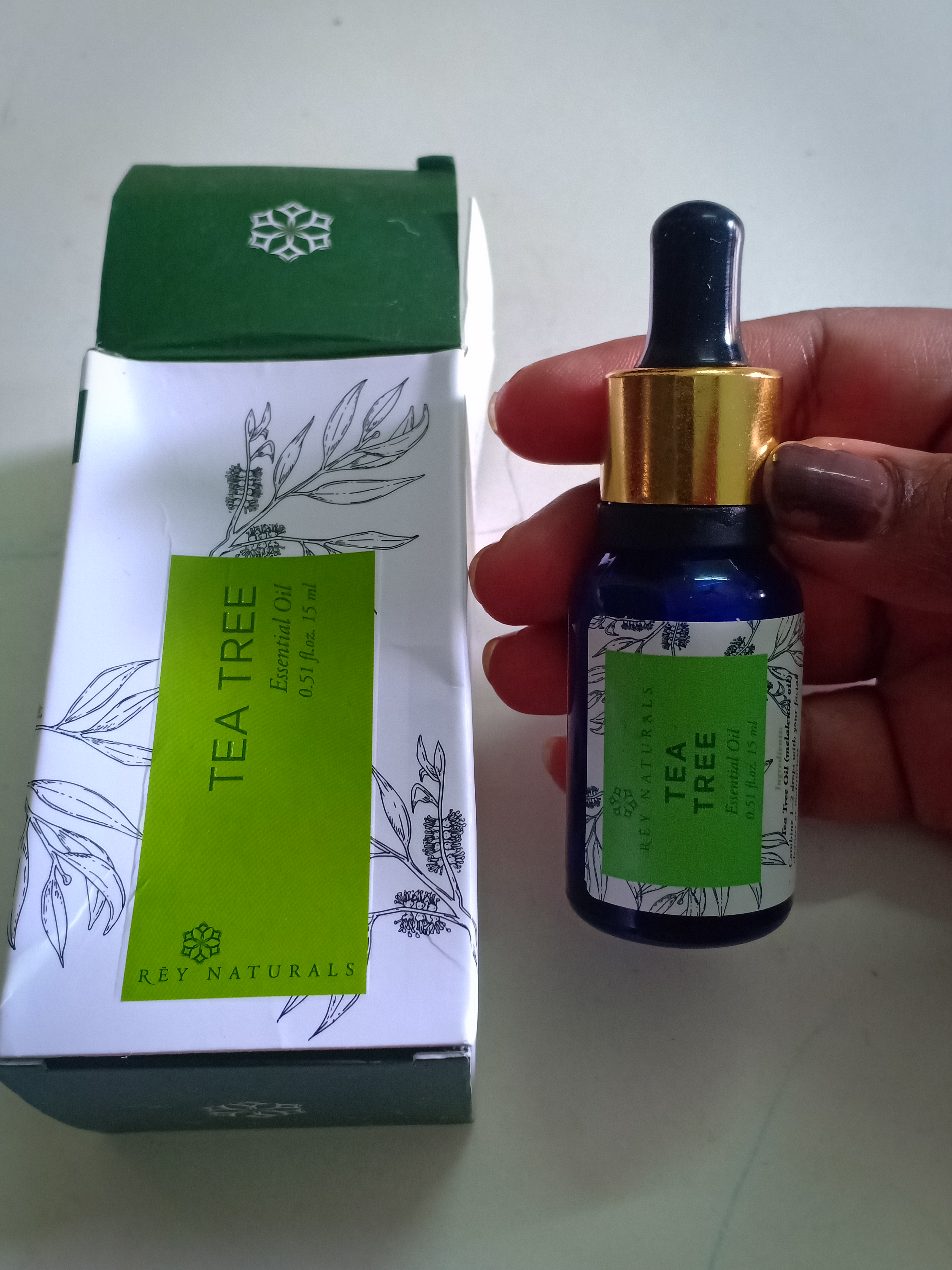Rey Naturals Tea Tree Essential Oil-Tea Tree essential oil Review-By simplify_your_life