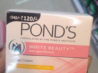 Ponds White Beauty Anti Spot Fairness SPF 15 Day Cream -Wow-By fatma