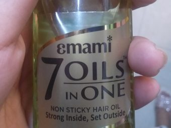 Emami 7 Oils In One Damage Control Hair Oil -Hair grows faster-By alia28