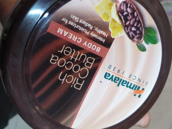 Himalaya Herbals Rich Cocoa Butter Body Cream pic 4-Very light-By alia28