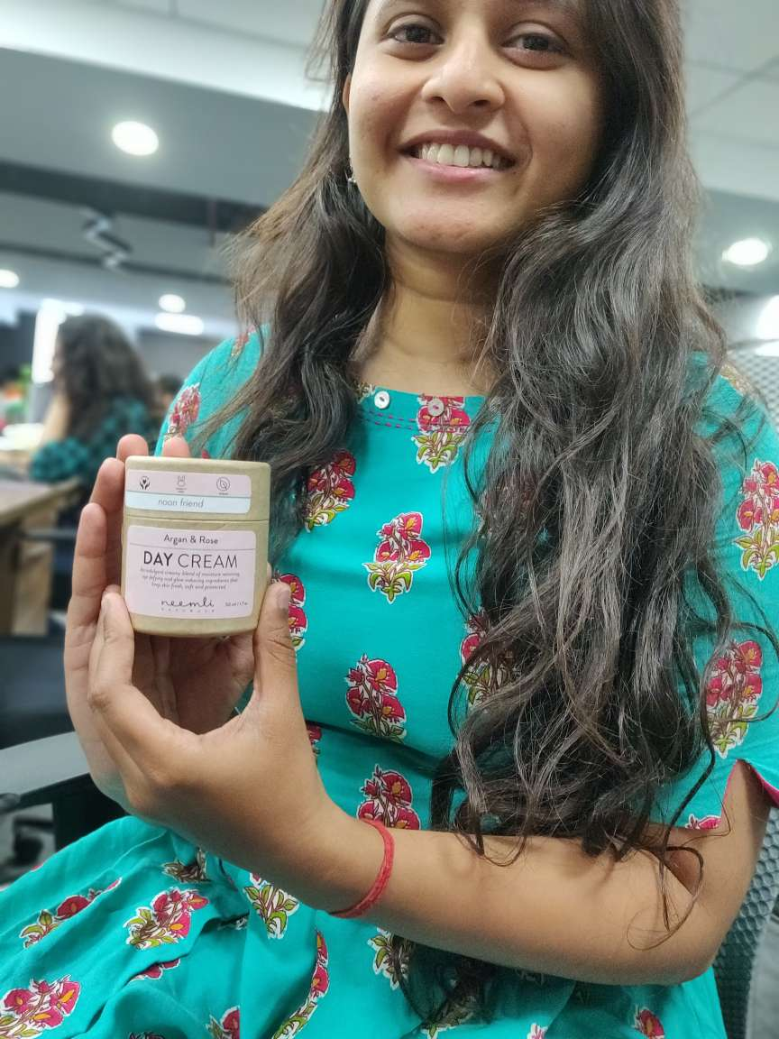 Neemli Naturals Argan & Rose Day Cream pic 1-I have finally found my holy grail!-By poojakarkala1