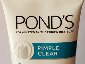 Ponds Pimple Clear Face Wash pic 2-Not suitable for dry skin-By sobia_saman1