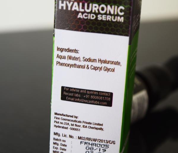 Recast Pure Hyaluronic Acid Serum pic 4-Super hydrating-By megha_saraf