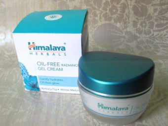 Himalaya Herbals Oil-Free Radiance Gel Cream -Replaces moisturizer and night cream as well-By hs_saduf