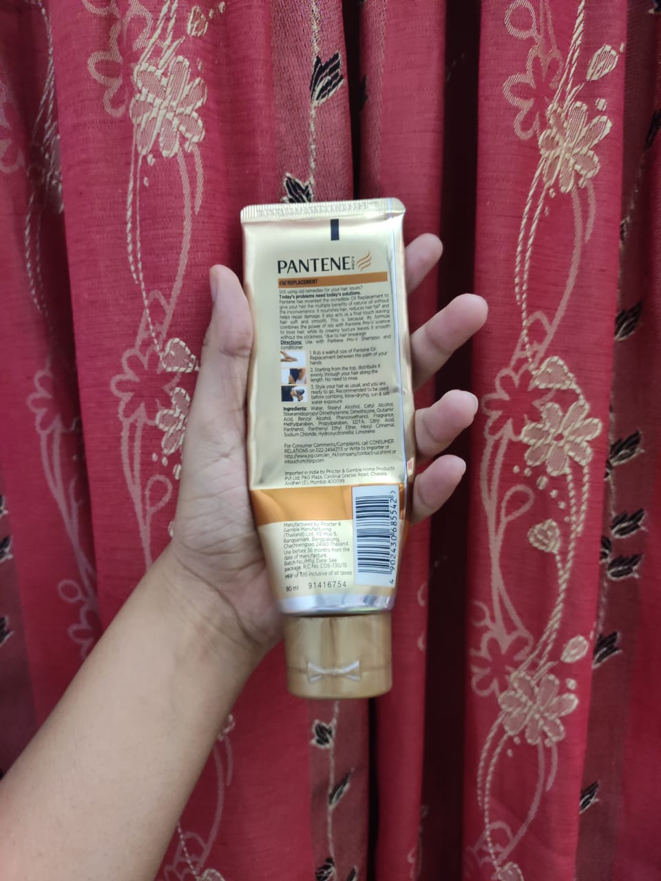 Pantene Pro-V Oil Replacement-Good product-By tania_khan-4
