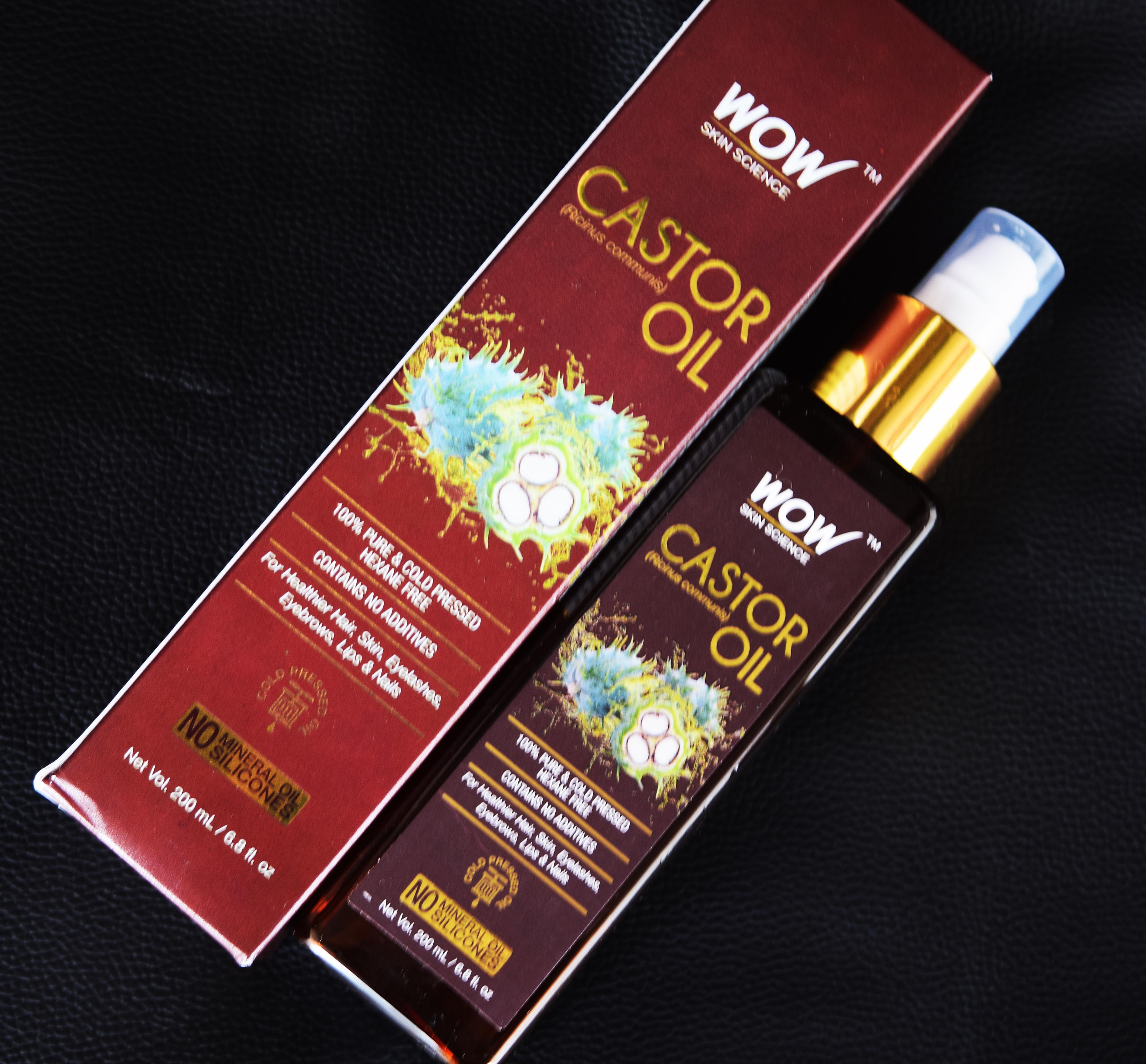 WOW Skin Science Castor Oil-Purest castor oil-By megha_saraf-3
