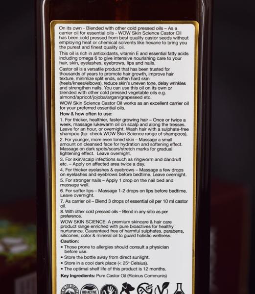 WOW Skin Science Castor Oil-Purest castor oil-By megha_saraf-1
