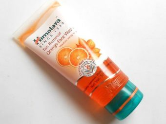 Himalaya Tan Removal Orange Face Wash pic 1-For all skin types.-By simmi_haswani