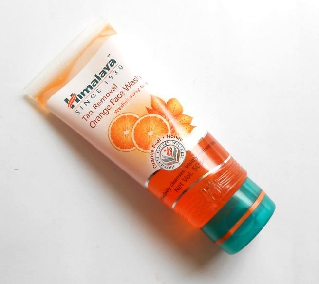 Himalaya Tan Removal Orange Face Wash-For all skin types.-By simmi_haswani-1