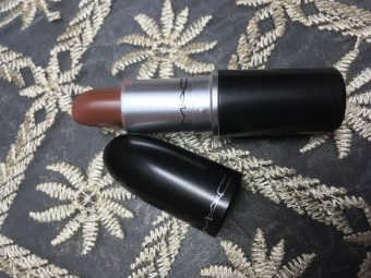 MAC Matte Lipstick pic 2-Taupe lovely colour-By sayanikarmakar
