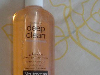 Neutrogena Deep Clean Facial Cleanser pic 5-Deep clean.-By simmi_haswani