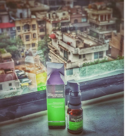 Recast Pure Hyaluronic Acid Serum -A great serum which works magically to prevent fine lines of age.-By pamela_mukherjee