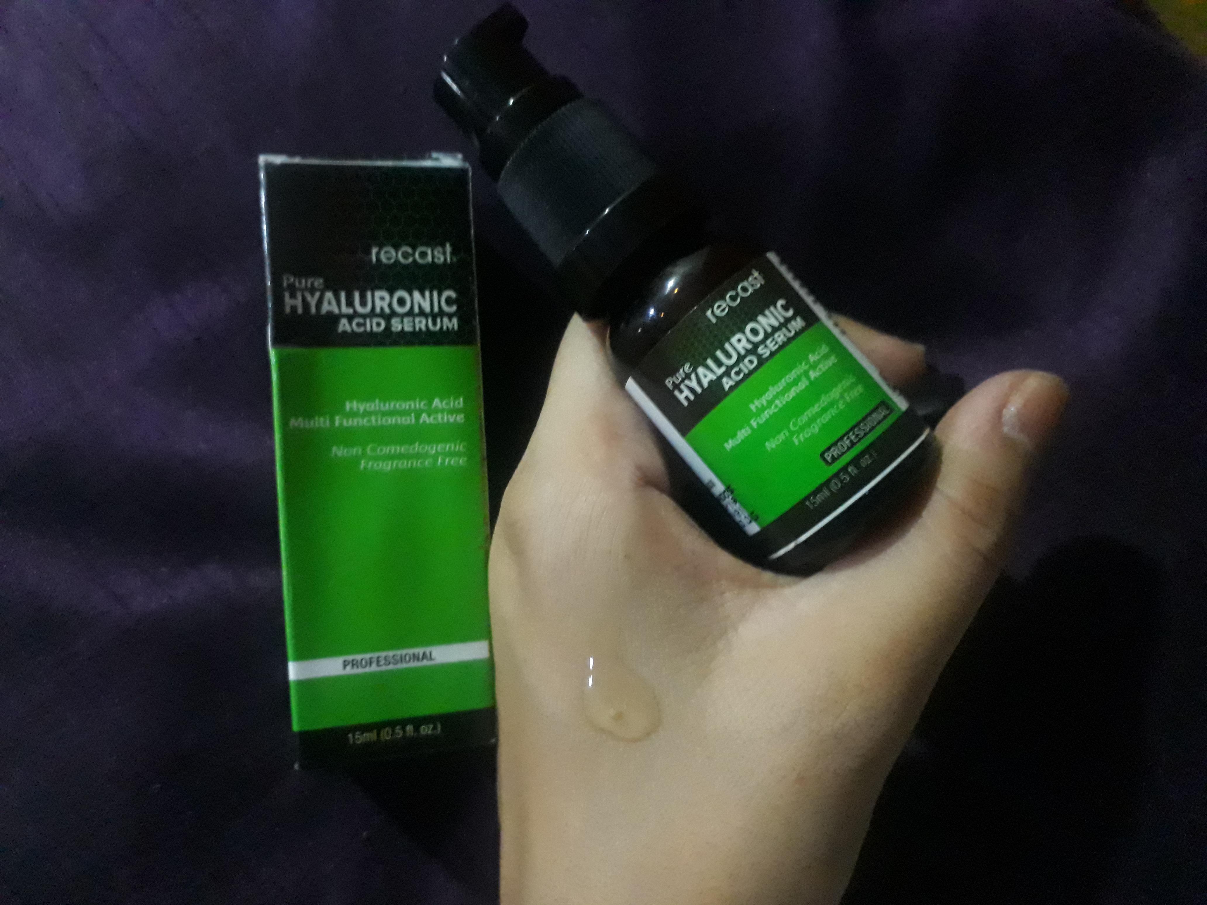Recast Pure Hyaluronic Acid Serum pic 1-Works as a primer!!!-By akshaya_chavan