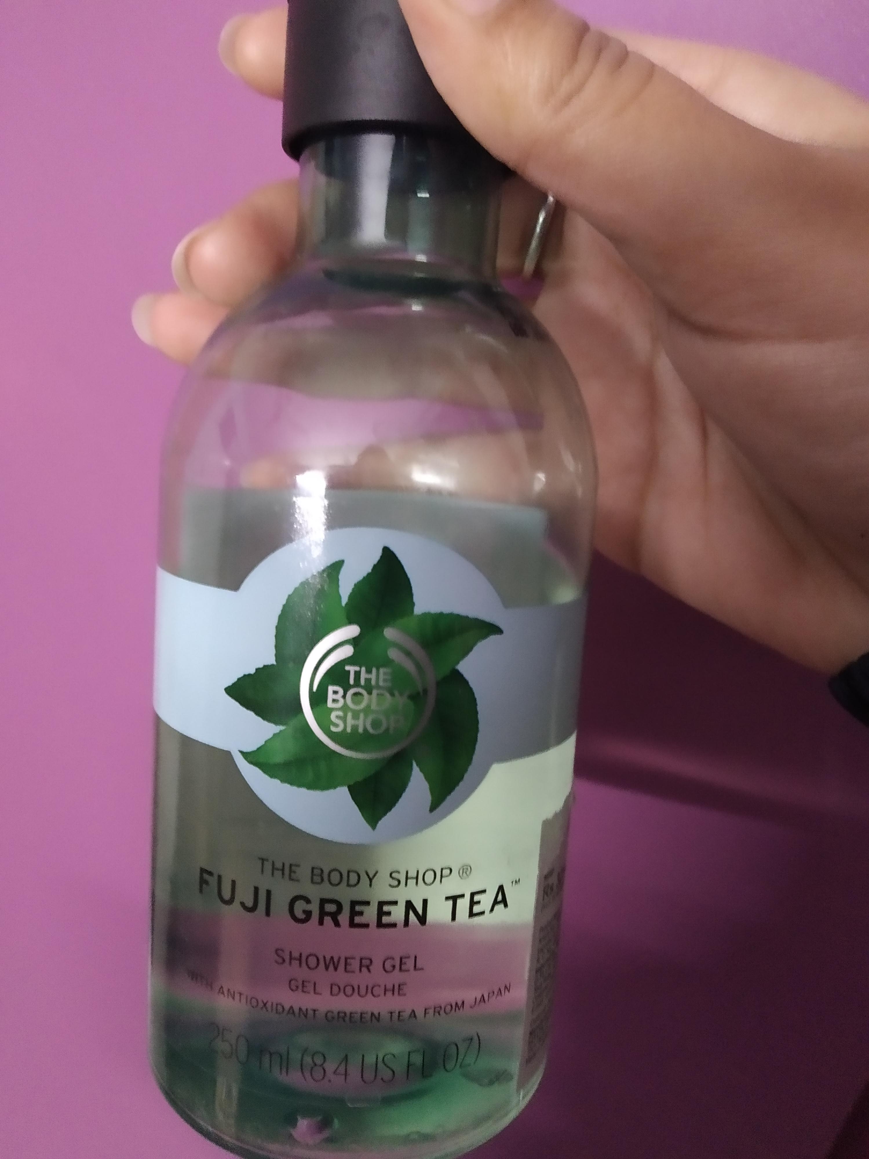 The Body Shop Fuji Green Tea Shower Gel -Detoxifying fragrance-By ipshita1