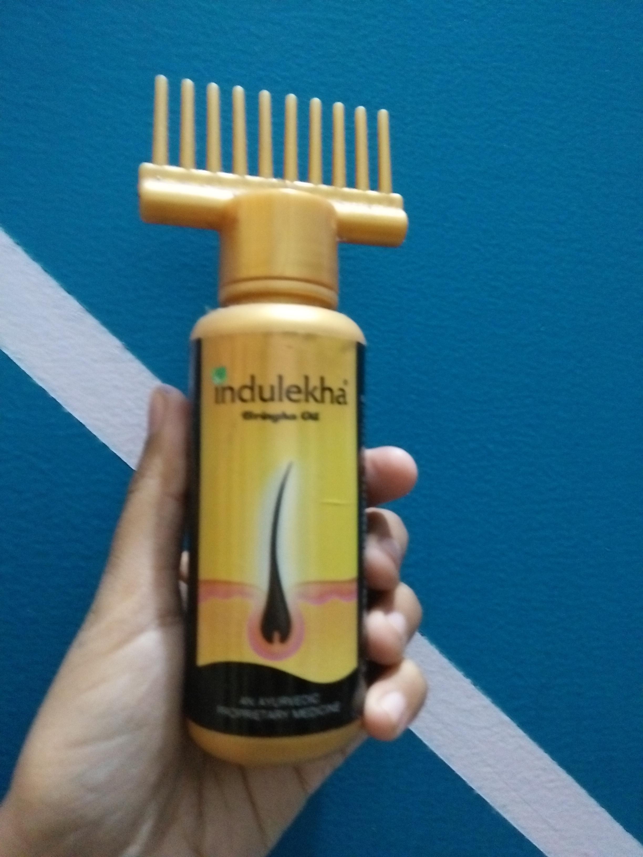 Indulekha Hair Oil-Works for hair growth-By ariba