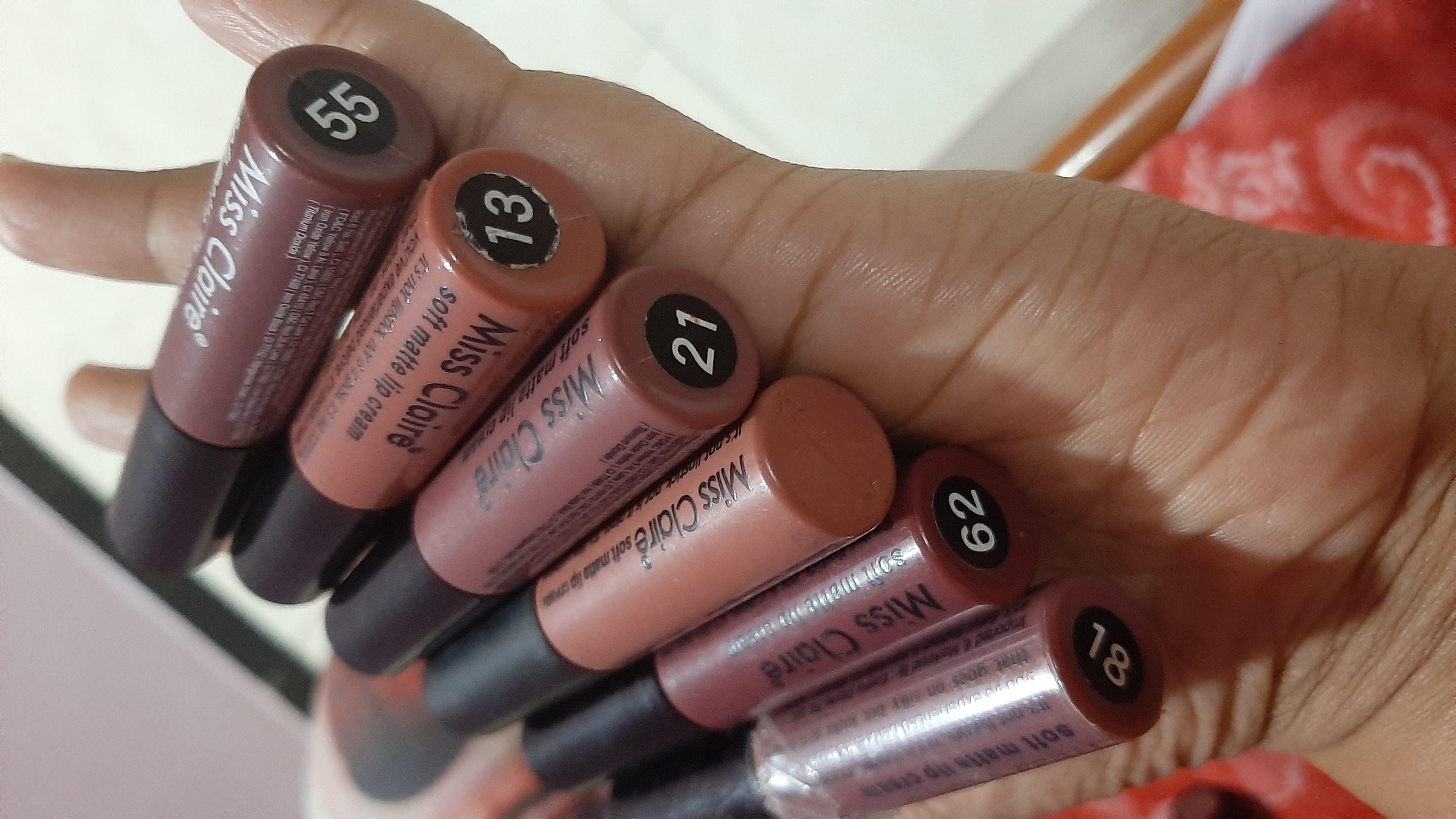 Miss Claire Soft Matte Lip Cream-Excellent product a must buy-By prachi08-2