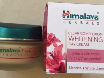 Himalaya Herbals Clear Complexion Whitening Day Cream pic 2-Fairness.-By simmi_haswani