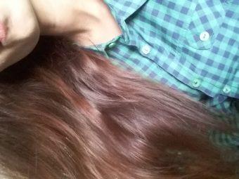 BBlunt Salon Secret High Shine Creme Hair Colour, Mahogany Reddish Brown pic 1-Leaves a good shine on hair-By khushboo18