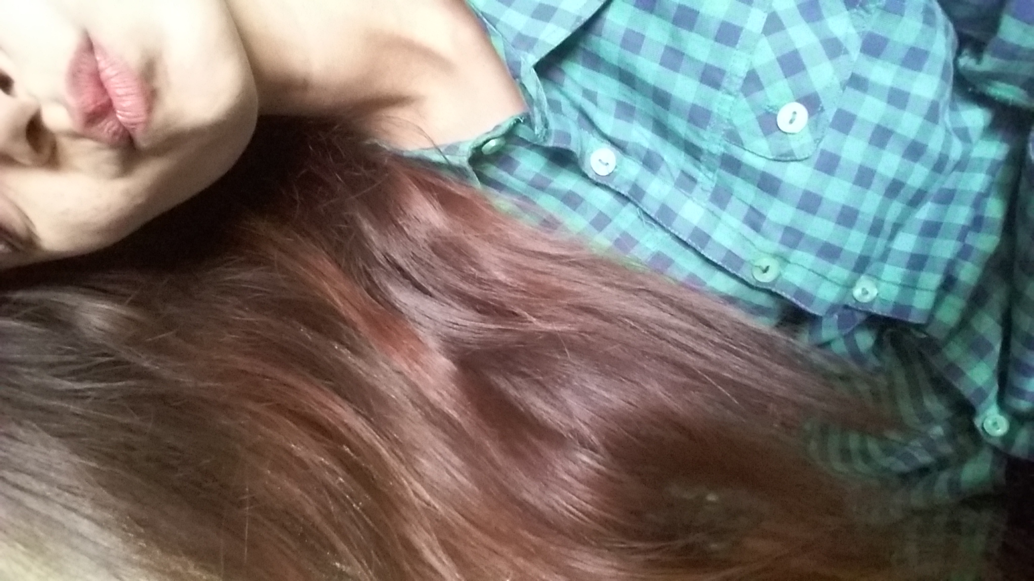 BBlunt Salon Secret High Shine Creme Hair Colour, Mahogany Reddish Brown-Leaves a good shine on hair-By khushboo18-1