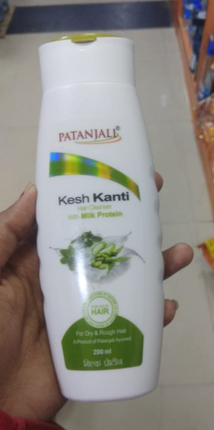 Patanjali Kesh Kanti Milk Protein Hair Cleanser Shampoo-Affordable-By saraswathig-2