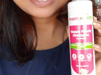 Mamaearth Happy Heads Natural Protein Hair Shampoo pic 2-Combat hair fall to a great extent-By papri_ganguly