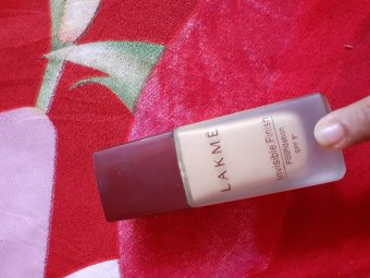 Lakme Invisible Finish Foundation -Foundation for all-By madhurima7