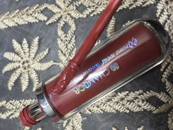 Chambor Extreme Wear Transferproof Liquid Lipstick pic 1-In love with this lipstick-By sayanikarmakar