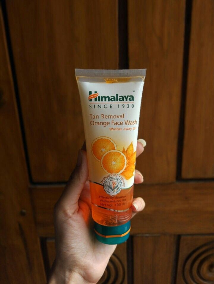 Himalaya Tan Removal Orange Face Wash-For all skin types.-By simmi_haswani-3
