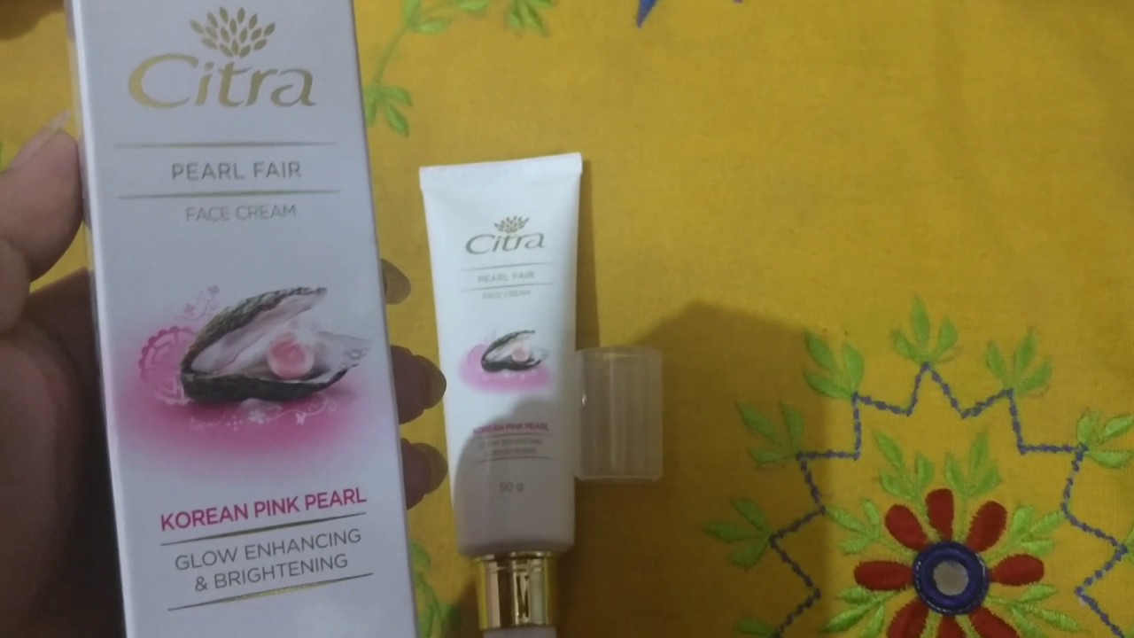 Citra Pearl Fair Face Cream With Korean Pink Pearl-Pearl fairness.-By simmi_haswani-1
