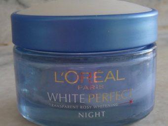 L'Oreal Paris White Perfect Night Cream pic 5-Lightening effect.-By simmi_haswani