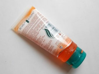 Himalaya Tan Removal Orange Face Wash pic 2-For all skin types.-By simmi_haswani