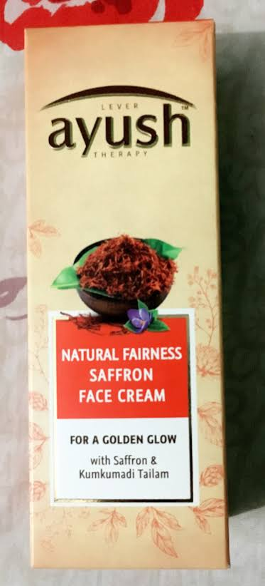 Lever Ayush Natural Fairness Saffron Face Cream-For fairness.-By simmi_haswani-4