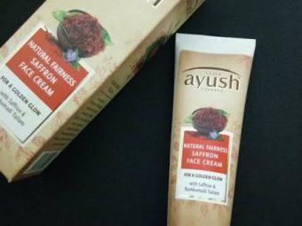 Lever Ayush Natural Fairness Saffron Face Cream pic 6-For fairness.-By simmi_haswani