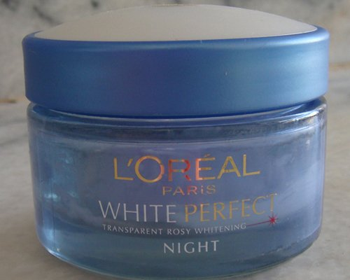 L'Oreal Paris White Perfect Night Cream-Lightening effect.-By simmi_haswani-1