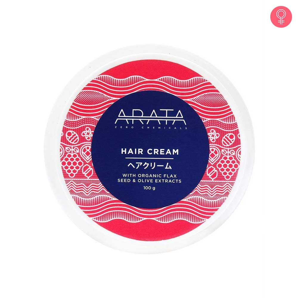 Arata Organic Flaxseed & Olive Oil Hair Cream