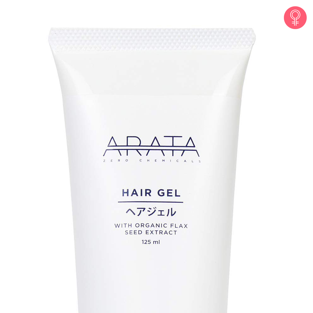 Arata Organic Flaxseed Hair Gel
