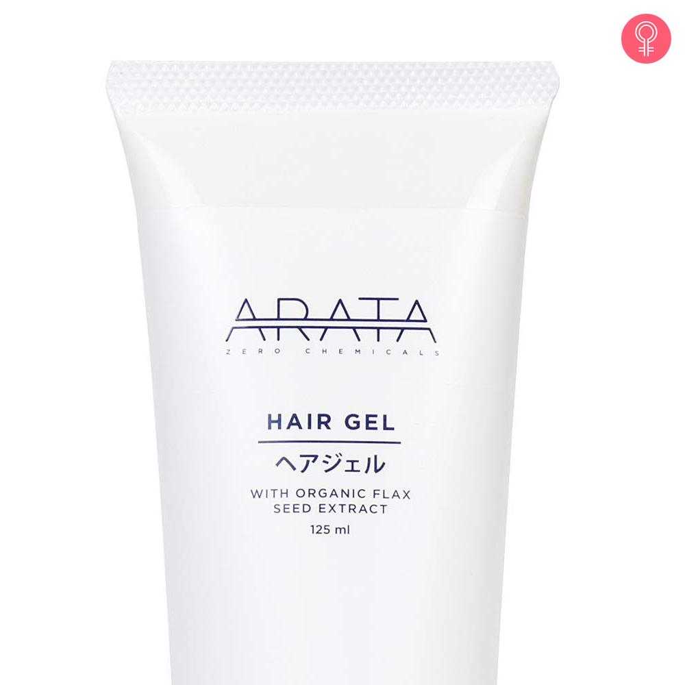 Arata Organic Flaxseed Hair Gel