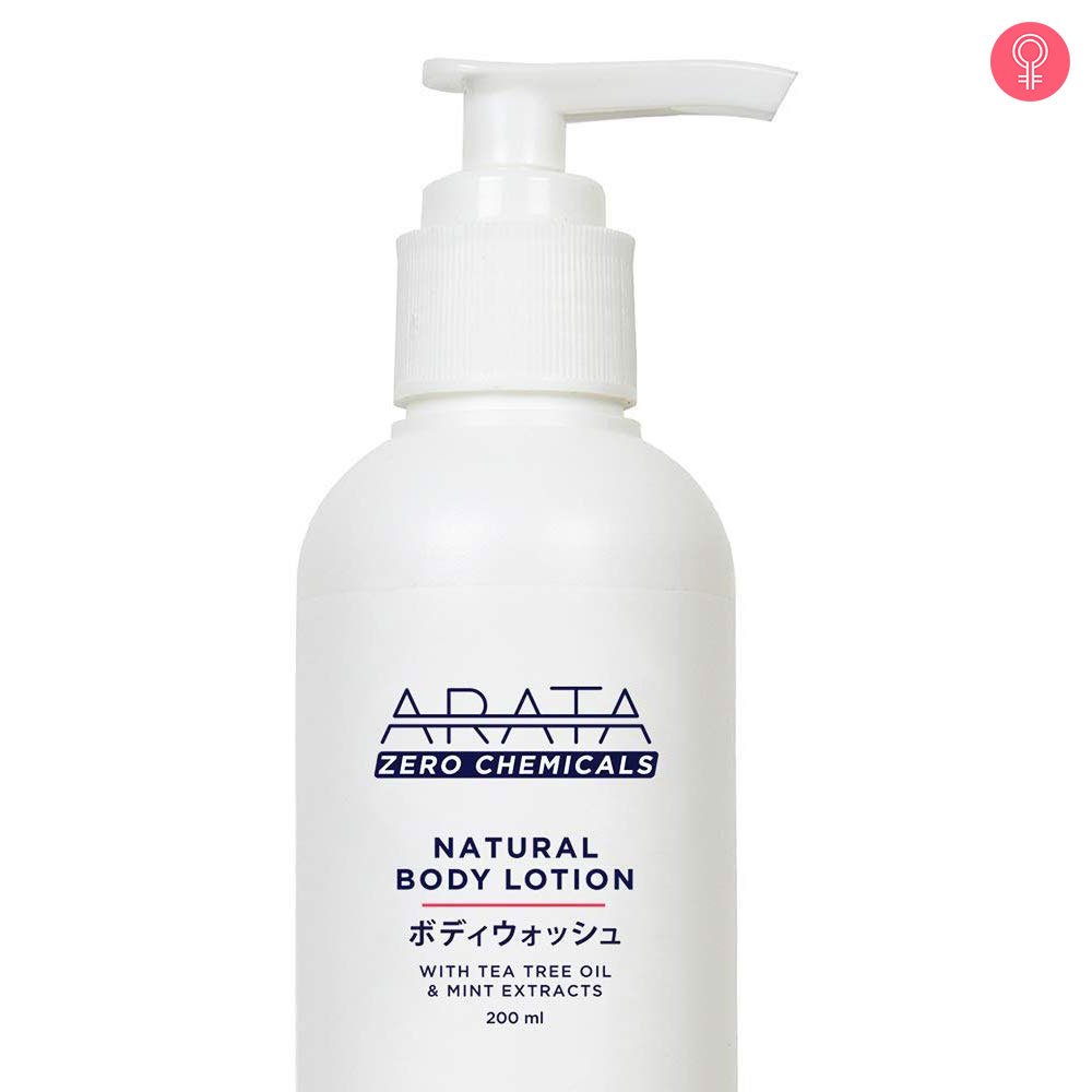 Arata Tea Tree Oil Mint Body Lotion