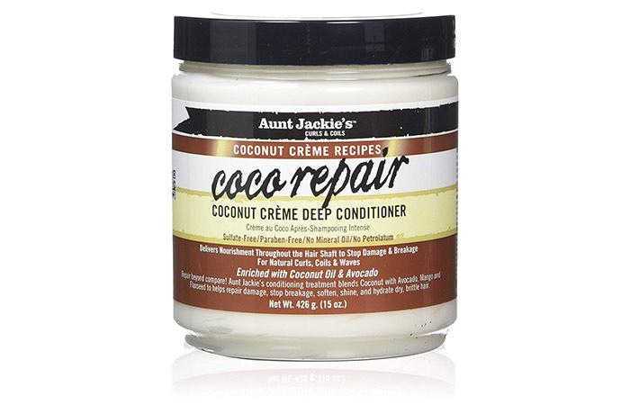 Aunt Jackie's Coco Repair Coconut Crème Deep Conditioner