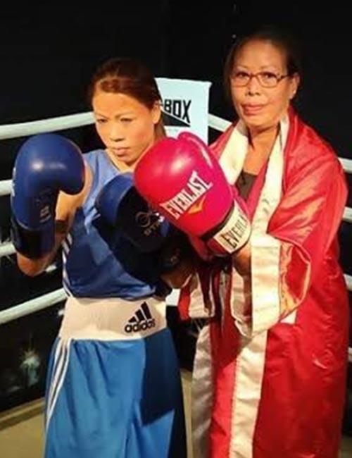 Boxer MC Mary Kom Wins Bronze At The 2012 London Olympics