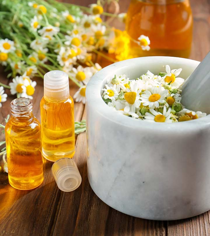 Chamomile Oil Benefits and Side Effects in Hindi