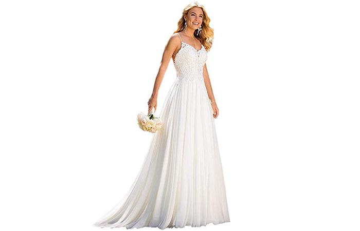 Cupocupa Beach Wedding Dress