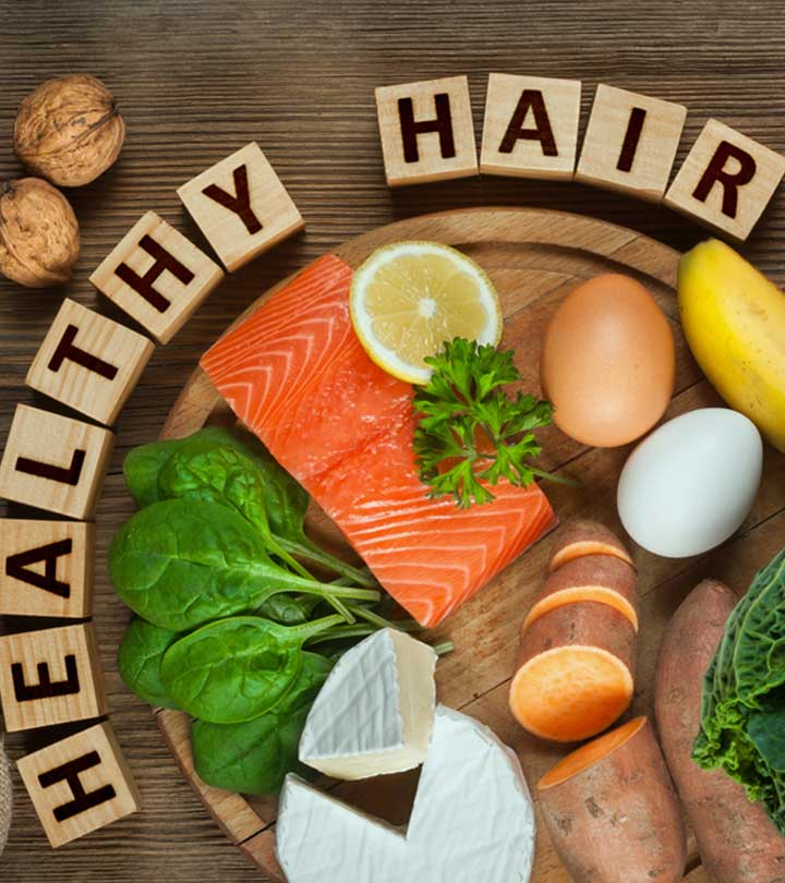 Diet For Healthy Hair In Hindi